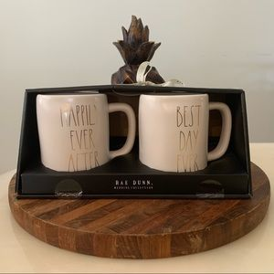 Rae Dunn Happily Ever After & Best Day Ever Mugs
